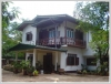 Lao house but with very large garden for rent