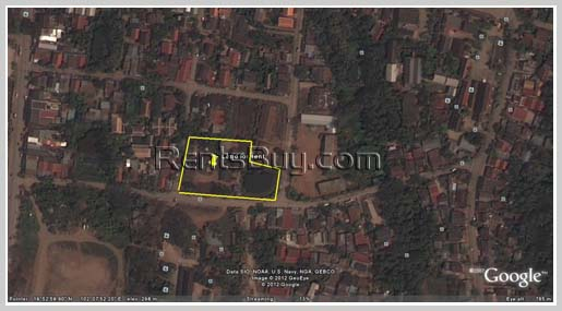 Land in city of Luangparbang for rent