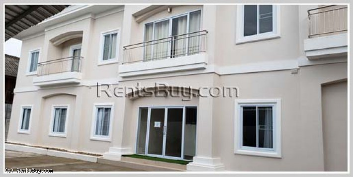 ID: 4368 - Beautiful apartment near Vientiane Center in Ban Piawat in Mekong for rent