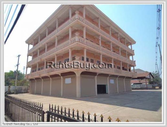 ID: 798 - Commercial space for rent close to Lao International Convention Center