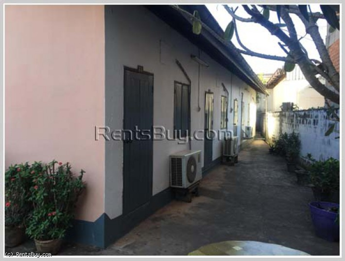 ID: 4259 - Nice guesthouse in town next to concrete road for rent in Ban Thongtoum