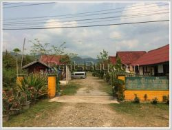 ID: 3952 - Guesthouse in Vangvieng for rent