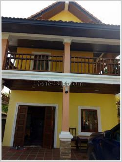 ID: 4053 - 12 rooms guesthouse in town of Luangprabang City and near main road for sale.
