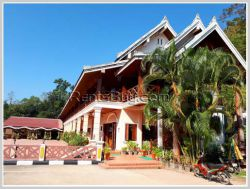 ID: 4054 - Beautiful hotel by Mekong River for sale in Ban Pakbeng Village