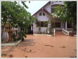 ID: 3138 - Nice house with large yard for rent near Chieng Hotel