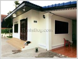 ID: 3472 - Modern house with fully furnished for rent near Nongtha Paradise land