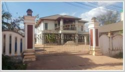 ID : 1079 - New Modern house with fully furnished for rent near Lao American College