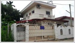 ID: 3665 - Beautiful house near concrete road and fully furnished for rent in Chanthabouly District