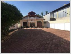 ID: 4257 - Affordable villa in town and near Thongkhankham Market for rent