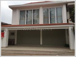 ID: 3941 - Townhouse near Patuxay with fully furnished for rent