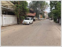 ID: 3947 - Nice villa for rent near Patuxay by pave road in Chanthabouly district