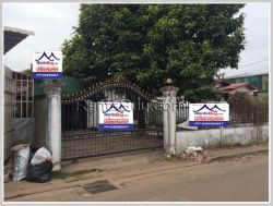 ID: 3940 - Affordable villa near Patuxai for rent in Chanthabouly district