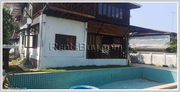 ID: 4308 - The Lao style house near Mekong River in Ban Thana for rent