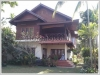 ID: 707 - Luxury Lao style house with fully furnished for rent by mekong river