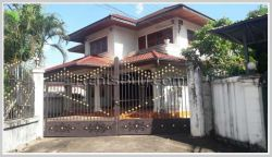 ID: 3779 - Modern house near Soutsaka College by small road for rent