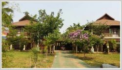 ID: 3171 - Beautiful Lao style house near Lao National Convention Hall