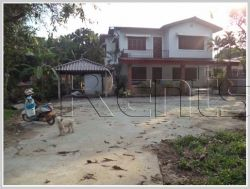 ID: 3303 - Renovated house near Joma That luang for rent