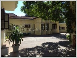 ID: 1482 - Colonial style house near pave road suitable for office