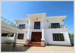 ID: 4369 - Newly constructed modern house for rent near Unitel Telecom in Ban Naxay