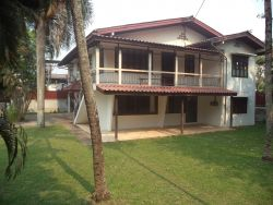 ID: 3115 - Spacious house with large shady garden for rent in Chanthabouly District, Vientiane Capit