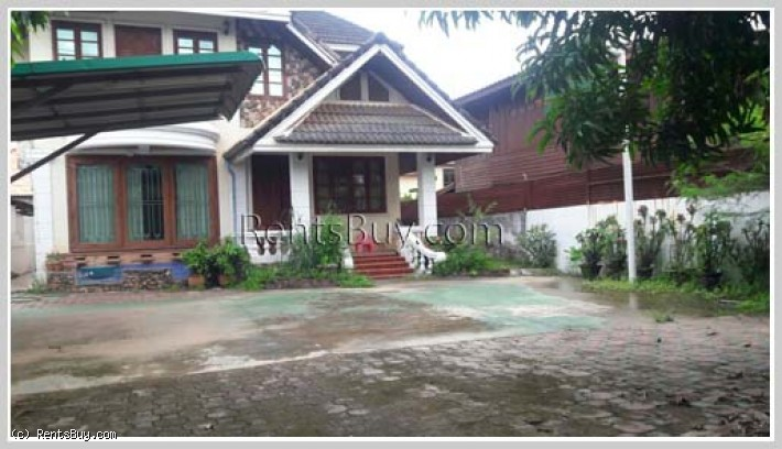 ID: 3699 - Affordable house next to concrete and not far from Thatluang Temple for rent