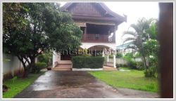 ID: 3814 - Lao style house near Joma 2 (Phonthan) and Sengdara Fitness for rent.