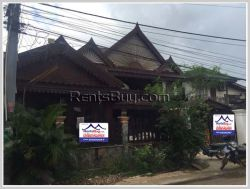 ID: 4156 - The house by pave road near Thatluang Temple and M-Point mart for rent