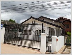 ID: 3727 - Affordable villa next to concrete, close to Japanese Embassy, not far from Thatluang