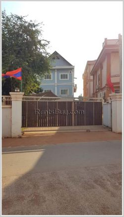 ID: 4278 - The house with large parking near National University of Laos for rent