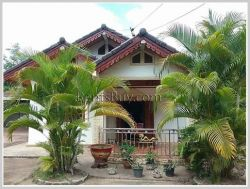 ID: 3722 - Cozy Villa near Nongphaya Market and large garden for rent