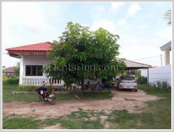 ID: 4064 - A pleasant house not far from National University of Laos for rent