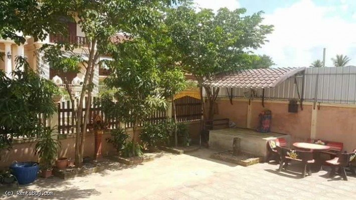 ID: 3966 - Affordable villa with fully furnished near National University of Laos for rent