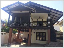 ID: 3661 - The Lao style house in prime location near Mekong River for rent by good access
