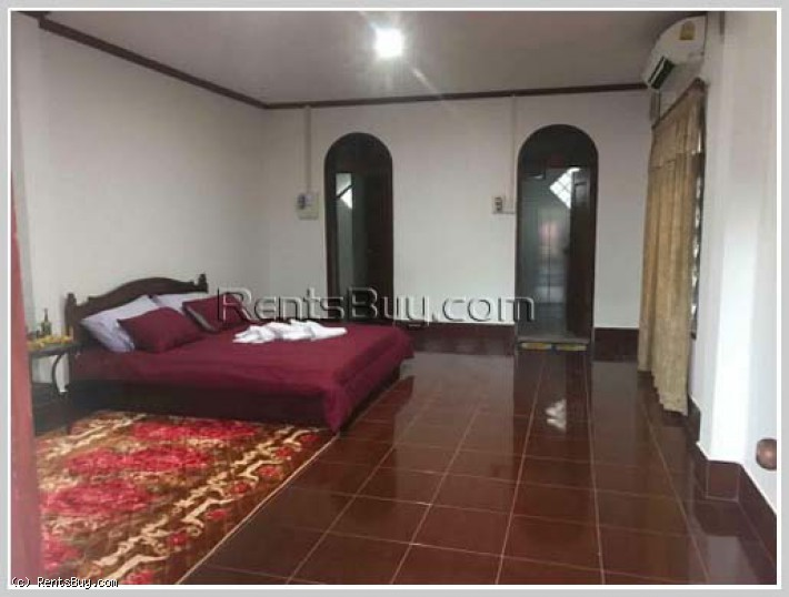 ID: 4243 - Adorable house with large parking in Ban Thongpong for rent