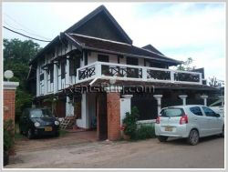 ID: 3752 - Beautiful house with large garden in prime location near Mekong River for rent