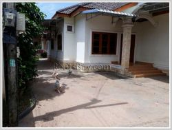 ID: 3725 - Affordable villa near Wattay Airport for rent in Sikhottabong district