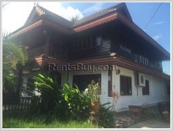 ID: 3281 - Lao style house with fully furnished for rent
