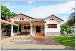 ID: 3232 - The villa is beautiful with fully furnished and large garden for rent
