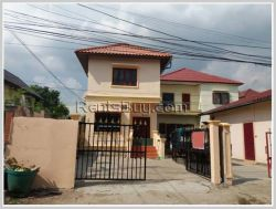 ID: 3363 - New house in the city with fully furnished by concrete road for rent