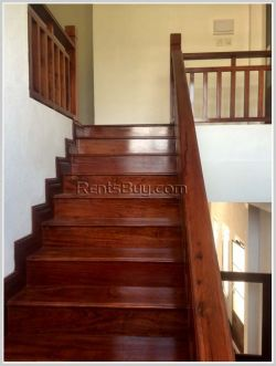 ID: 3440 - New modern house for rent in the developed and peaceful village in Sisattanak District.