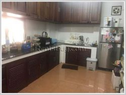 ID: 4333 - Lao Style house near Law School for rent in Ban Donnokkoum