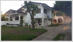 ID: 4223 - Private family living! The modern house with nice garden for rent in Ban Sokpaluang