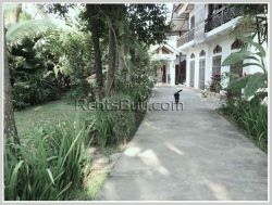 ID: 3066 - Nice villa house with fully furnished for rent in Sisattanak district