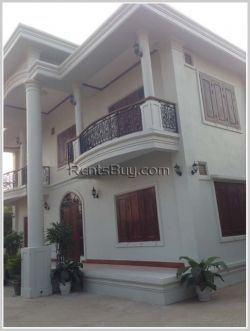 ID: 3079 - House near VIS for rent in Sisattanak district