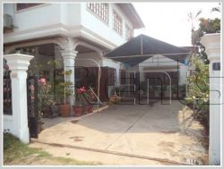 ID: 538 - The house with fully furnished for rent in Sisattanak district