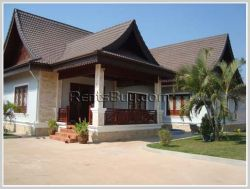 ID: 2221 - The dream villa house is beautiful with fully furnished for rent in Sisattanak district