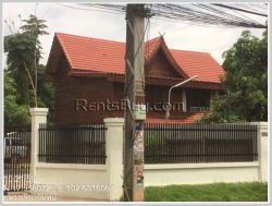 ID: 4331 - Lao style house near Panyathip Internation School for rent