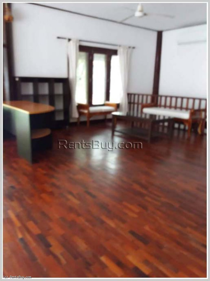 ID: 4360 - Lao style house with swimming pool in Ban Suanmon for rent