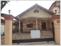 ID: 3106 - The dream villa house with fully furnished and large garden for rent in Saysettha distric