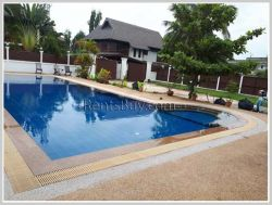 ID: 3695 - Affordable house with swimming pool for rent in Lao and foreign community zone